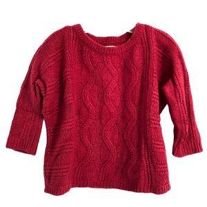 LOFT Women's Sweater size Small wool bright